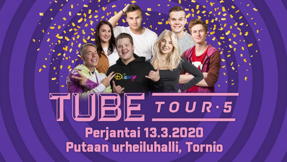 TubeTour 2020 maaliskuussa Torniossa.